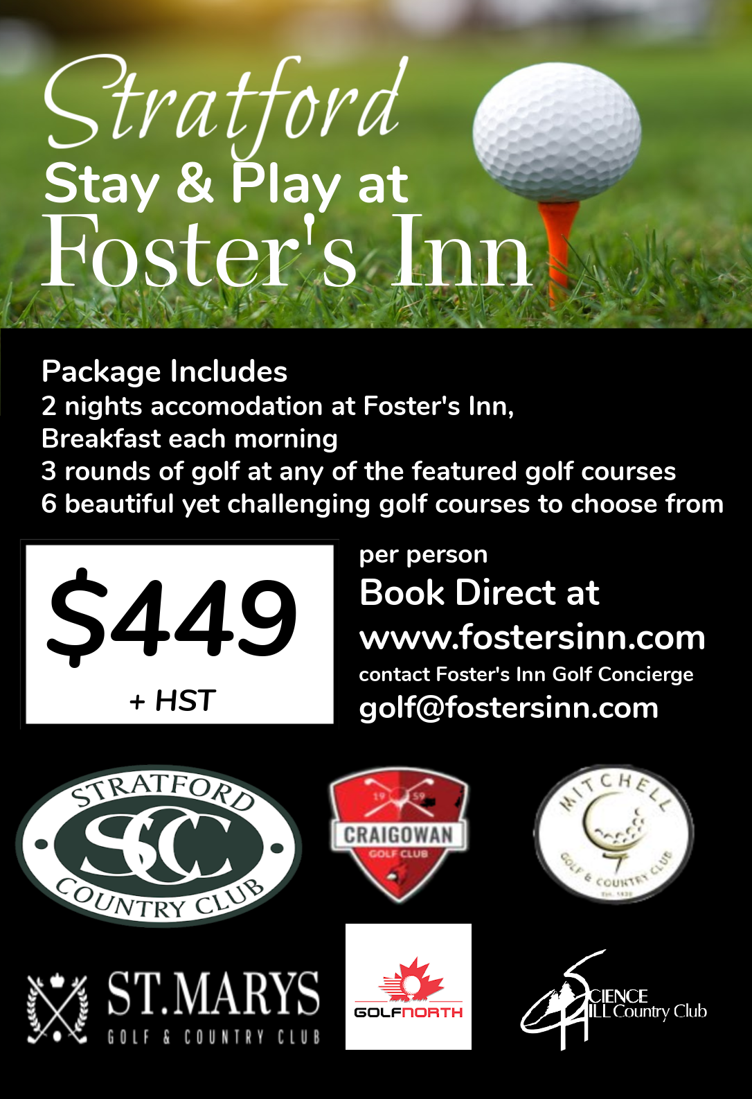 Golf and Stay Foster's Inn